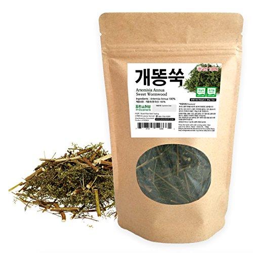 - [Medicinal Korean Herb] Artemisia Annua (Sweet Wormwood/Sweet Annie/Qinghao / 개똥쑥) Dried Bulk Herbs 3oz (86g)