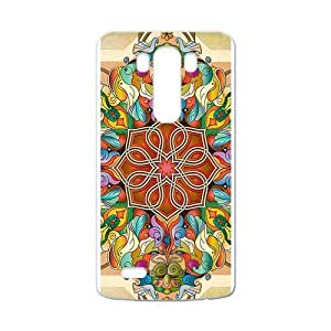 Canting_Good Colorful Mandala Custom Case Shell Skin for LG G3 (Laser Technology)