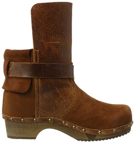 Brown 15 Sanita Cognac Ankle Women's Nora Boots 15 Flex Basic 8qYfaw8