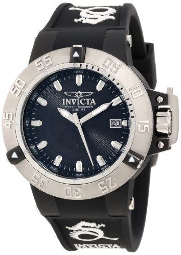 Invicta Women's 10113 Subaqua Noma III Black Textured Dial Watch (Invicta Subaqua Women Watches)
