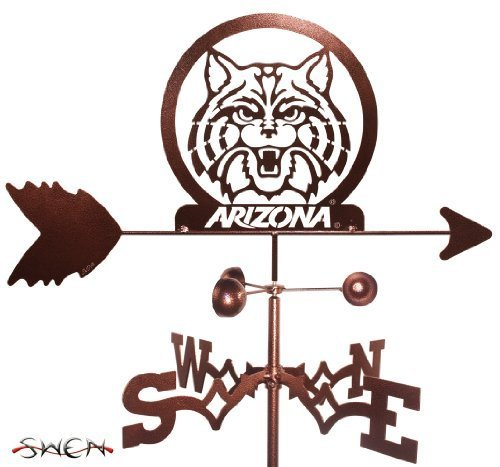 Hand Made ARIZONA WILDCATS GARDEN Stake Weathervane ~NEW~ by SWEN Products