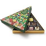 Godiva Chocolatier Christmas Tree Assorted Holiday Chocolate Gift Box, 10 Piece