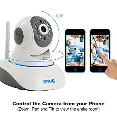 Snug Baby Monitor v2 - WiFi Video Camera with Audio for iPhone/Samsung