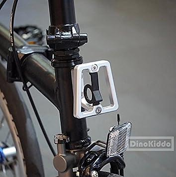 Mate Plata CNC Front Carrier bloque para Brompton Bicicleta Plegable – Dino Kiddo