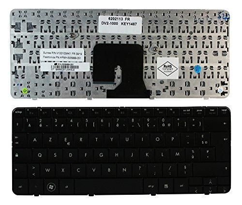 - Keyboards4Laptops French Layout Replacement Laptop Keyboard Glossy Black for HP Pavilion dv2-1110et, HP Pavilion dv2-1110ez, HP Pavilion dv2-1110us, HP Pavilion dv2-1111ax, HP Pavilion dv2-1112au