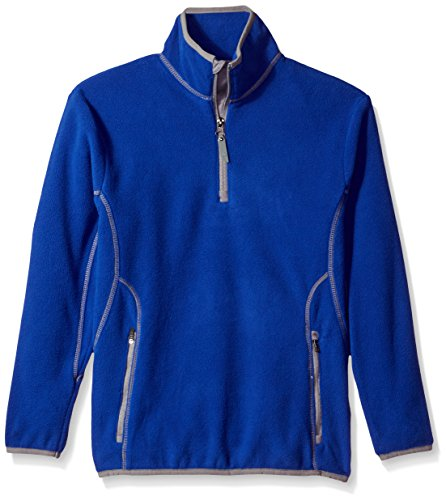 - Antigua Youth Ice Pullover, Dark Royal/Steel, X-Large