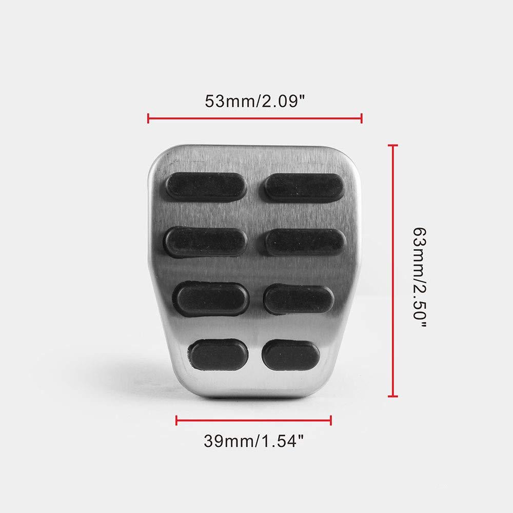B7 CC Alltrack 3C JNXZHQC Transmisi/ón Manual de Aluminio del Pedal del Coche Pedal de Freno./para Volkswagen Passat B6