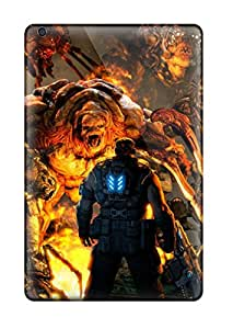 Scratch Resistant Hard Cell-phone Case For Ipad Mini With Support Your Personal Customized Realistic Gears Of War 3 Series AaronBlanchette