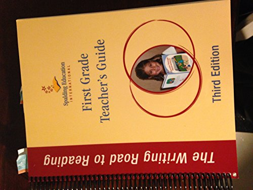 - The Writing Road to Reading, First Grade Teacher's Guide, 9781935289463, 1935289462, 2012