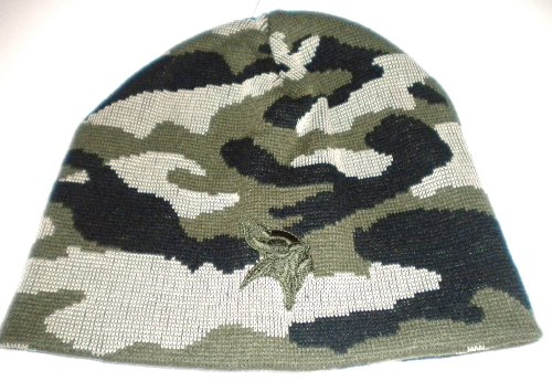 Minnesota Vikings Camouflage Beanie (Nfl Stocking Hats Vikings)