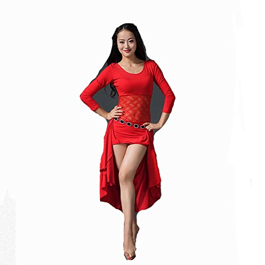 Wanson Mujeres Profesionales Danza del Vientre Vestido De Danza ...
