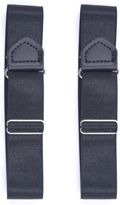 HEALIFTY 3 Piezas Estancia De Camisa Ajustable Sujetador Unisexo Camisa Liga para Camisa con Brazaletes Y Brazos Antideslizante Cinturón de Camisa 2.5cm: Amazon.es: Ropa y accesorios