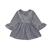 One Shoulder Dress Casual,Toddler Baby Kids Girls Sleeveless Ribbons Lace Sunflowers Summer Princess Dress,Girls' Fashion,Gray,12-18M