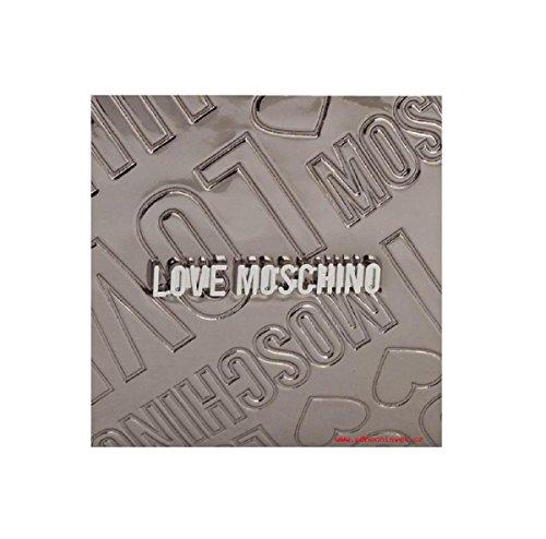 Argento 17 Love pochette Borsa Embossed JC4235PP04KD0910 Moschino 18 tracolla fw cOFFxnWY48