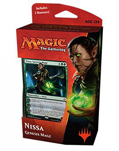 MTG, Hour of Devastation, Nissa, Genesis Mage Planeswalker Deck