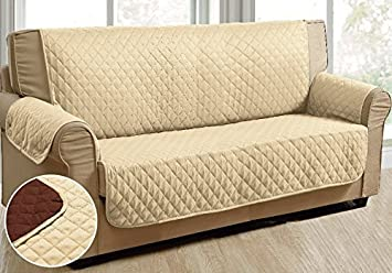 Amazon Com Reversible Furniture Protector For Sofa Loveseat Chair