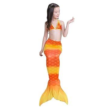 XDH Bikini Ajustable para Nadar Traje De Bano Sirena con ...