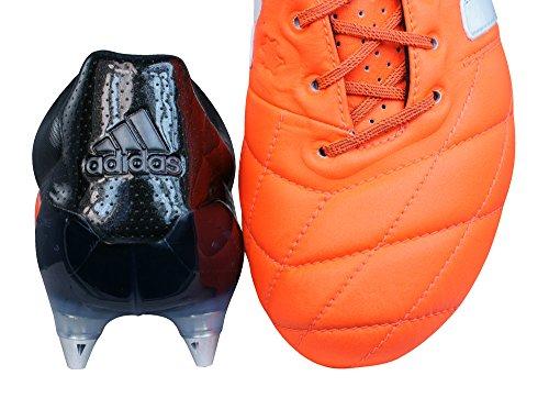 Adidas Ess 15,1 Sg Lær Promo Menns Fotball Støvler / Cleats Orange