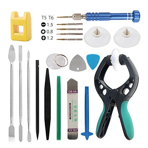 TOOGOO 21in1 Phone Repair Tools Kit Spudger Pry Disassemble