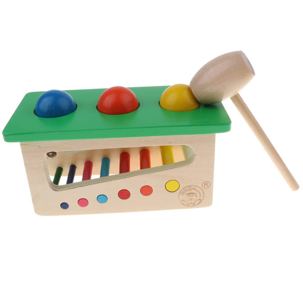 Non brand Sharplace Legno Sfere Palla Percussioni per Gioco Cognitivo Bambini