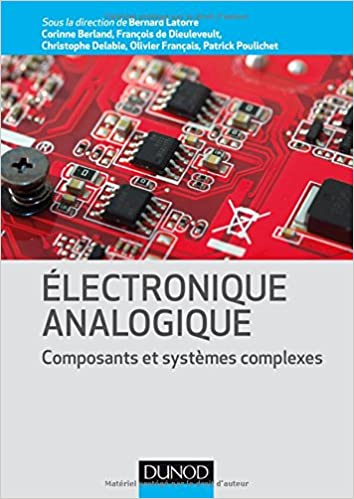 couverture du livre Electronique analogique