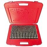 """HHIP 4101-0012 (M2-) Pin Gage Set (0.251""""-0.500""""), 250 Piece"""