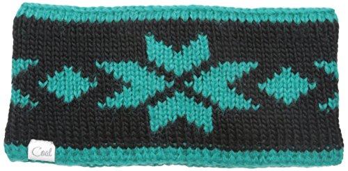 Coal Women's The Britta Snowflake Headband, Black, One Size