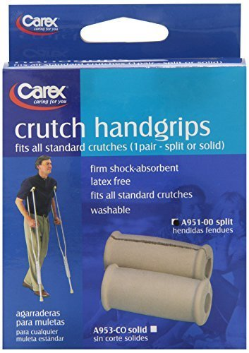 Carex Health Brands Carex Crutch Handgrips Split by Carex Health Brands