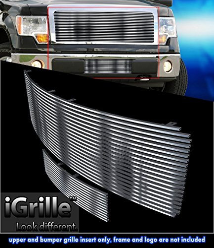 Off Roader Stainless Steel Egrille Billet Grille Grill For 2009 2014 Ford F150 Insert Upper Lower