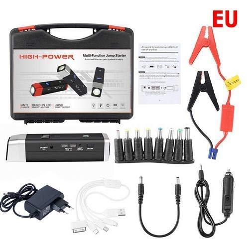 fiveschoice Starthilfe-Starthilfe, 20000 mAh, Lithium-Batterie, Booster, 12 V, Auto-Notfallstart mit LED-Beleuchtung LD0102602