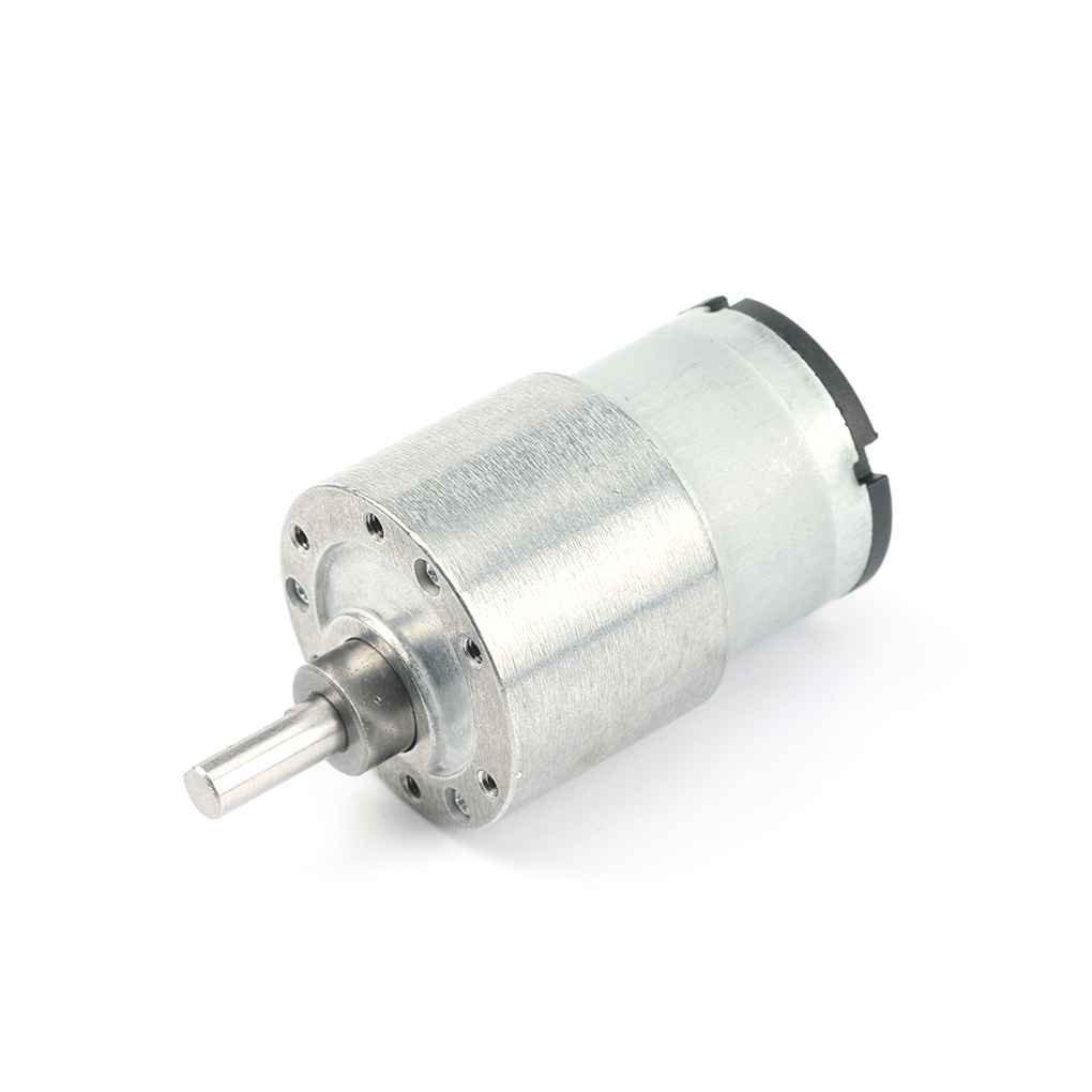 6V 37GB520 3.5RPM / 15RPM / 50rpm / 150RPM couple moteur à engrenages à courant continu miniature métal électronique de décélération du moteur