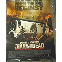 DIARY OF THE DEAD / ORIGINAL U.S. ONE-SHEET MOVIE POSTER ( GEORGE A. ROMERO )