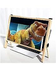 21-inch notebook mobiele telefoon scherm vergrootglas ultra-clear extension luie artefact bruin