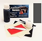 (US) Leather Repair Kit with READY TO USE Color, DARK GRAY