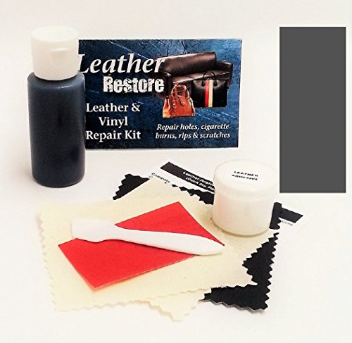 Leather Repair Kit with READY TO USE Color, DARK GRAY