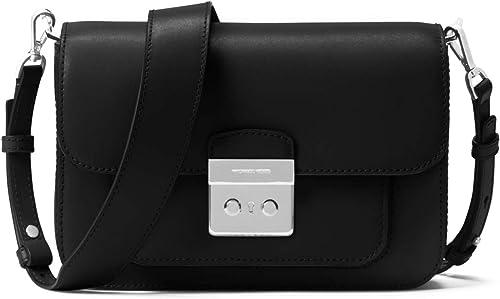 Michael Kors Sloan Editor Tricolor Signature Shoulder Bag