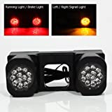 Modifystreet LED Hitch Light for Truck trailer or SUV - 24 LEDs with Running / Brake / Signal functions
