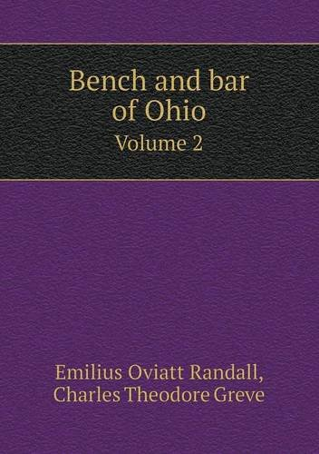 Read Online Bench and bar of Ohio Volume 2 PDF