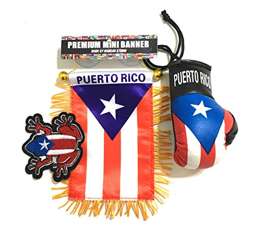 (Puerto Rico Flags for Cars)