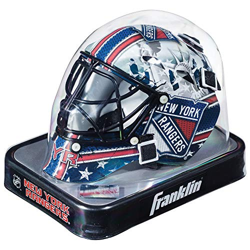 Helmet Nhl Team - Franklin Sports NHL League Logo New York Rangers Mini Goalie Mask