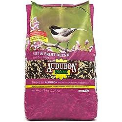 Audubon Park 12226 Nut & Fruit Blend Wild Bird Food, 5-Pounds