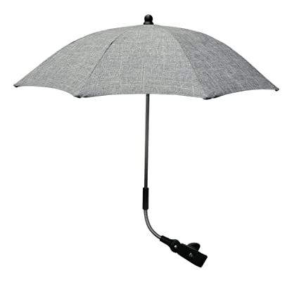 Sombrilla de parasol de Pram, paraguas giratorio de fibras para cochecito de bebé, paraguas