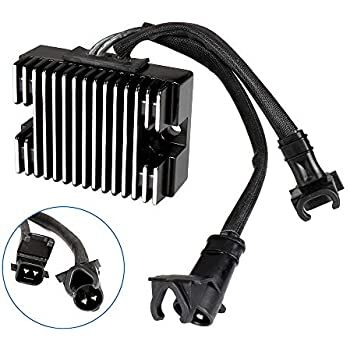 TUPARTS 49-8255 Voltage Regulator Rectifier Replacement Rectifier Fit for 2002-2003 Harley Davidson XL1200C Sportster 1200 Custom 2002-2003 Harley Davidson XL1200S Sportster 1200 Sport