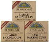 Kyпить If You Care Unbleached Large Baking Cups, 60 ct, 3 pk на Amazon.com