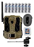 Spypoint Link Dark 4G LTE Cellular Trail Camera with Batteries, SD Card and Mount (AT&T LTE (USA))