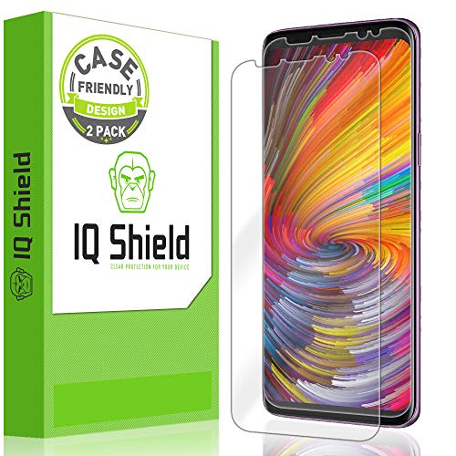 Reusable Clear Screen - [2-Pack] IQ Shield LiQuidSkin [Case Friendly] Screen Protector for Galaxy S9 (Ultimate Version 2) HD Clear Anti-Bubble Film