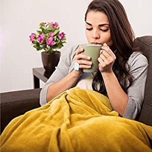 Bedsure Fluffy Throw Blankets ...