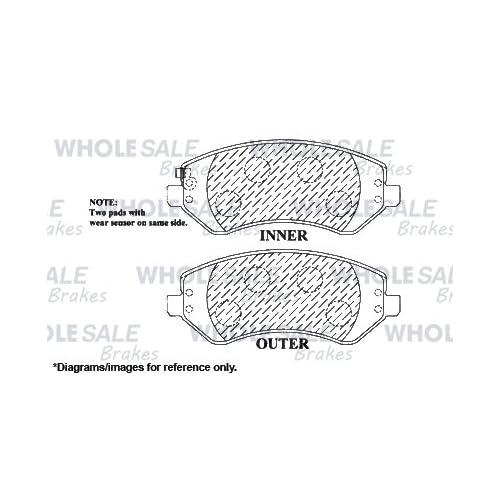 Front+Rear Kit|4 Cross Drilled Optimum Series Brake Rotors + 8
