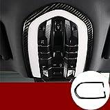 Carbon Fiber Inner Front Reading Light Trim Cover for Porsche Macan 2014-2018