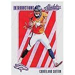 7a2fa0ecf5c Courtland Sutton Autographed Denver Broncos Custom Navy Football ...